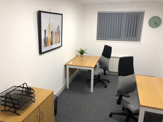 Furnished 1 or 2 person office