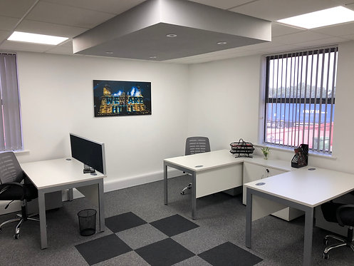 3 Person office