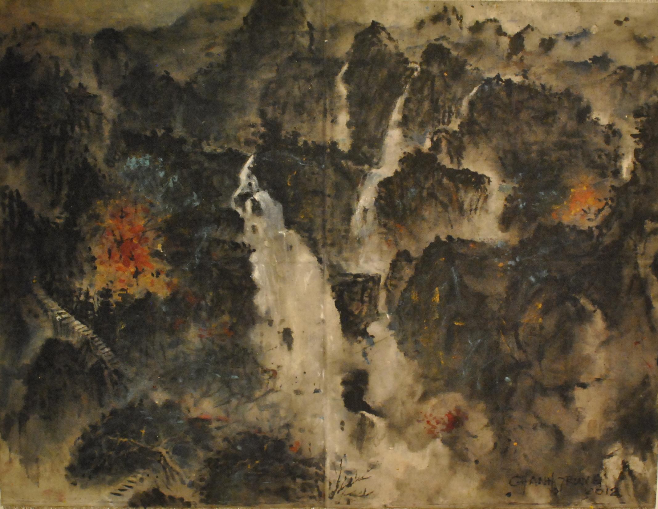 2012, Huang Shan,70x92