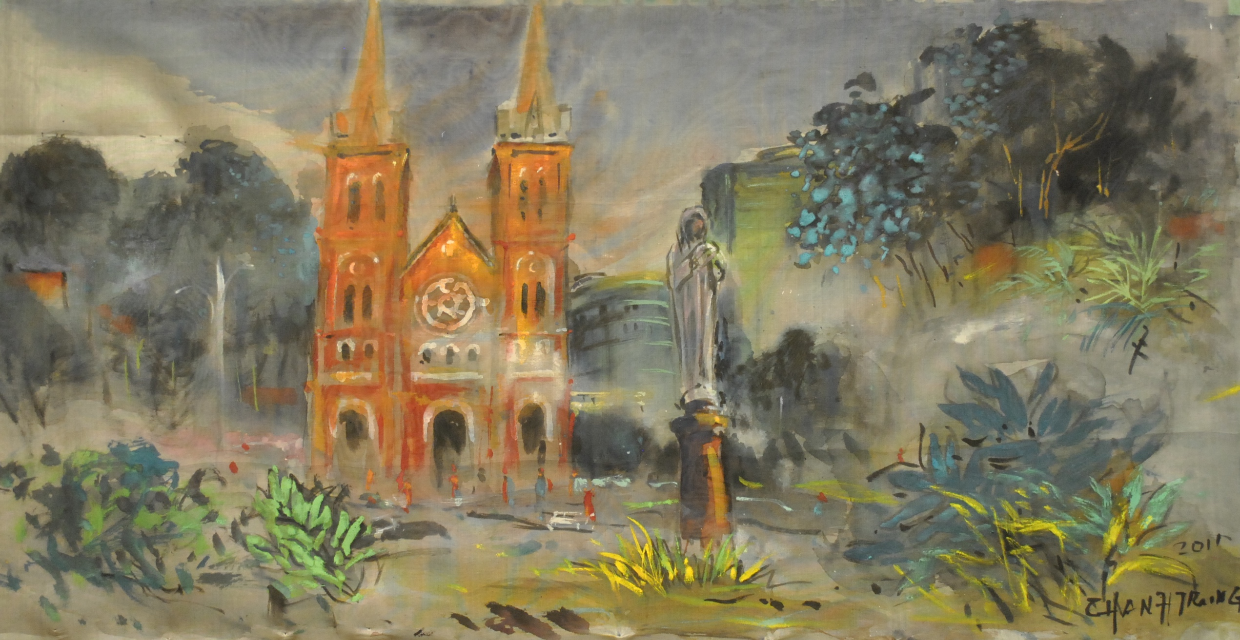Cathédrale Saigon