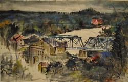 2011, Pont, 43x69