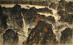 2012, Huang Shan, 58x95
