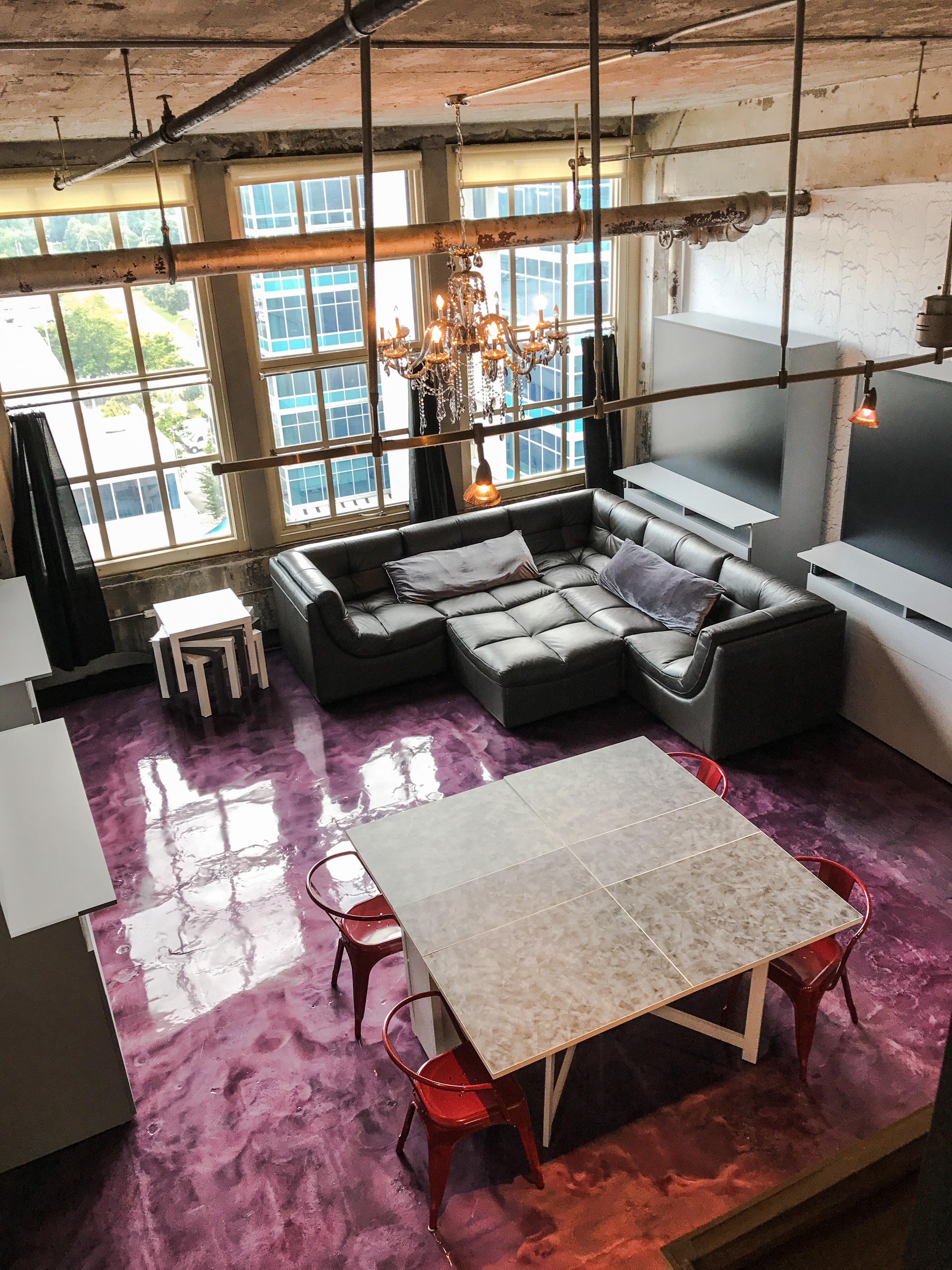 Loft Reverie 811 - Birdseye + Views + City Scape + Downtown Louisville + Kentucky + Dining + Cloud S