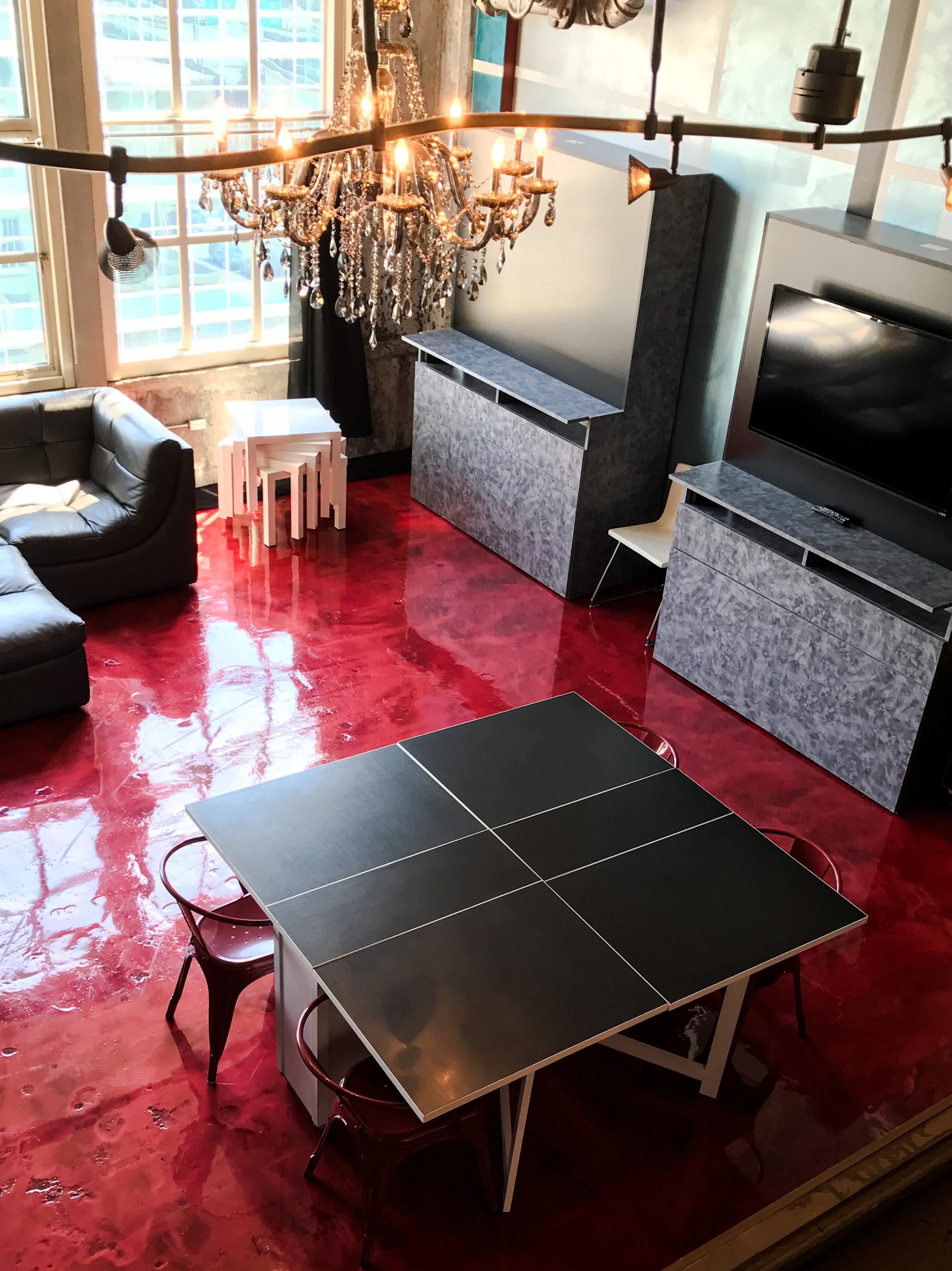 Loft Reverie Hotel 809 - A lofty birdseye view + Derby City Lofts + Louisville