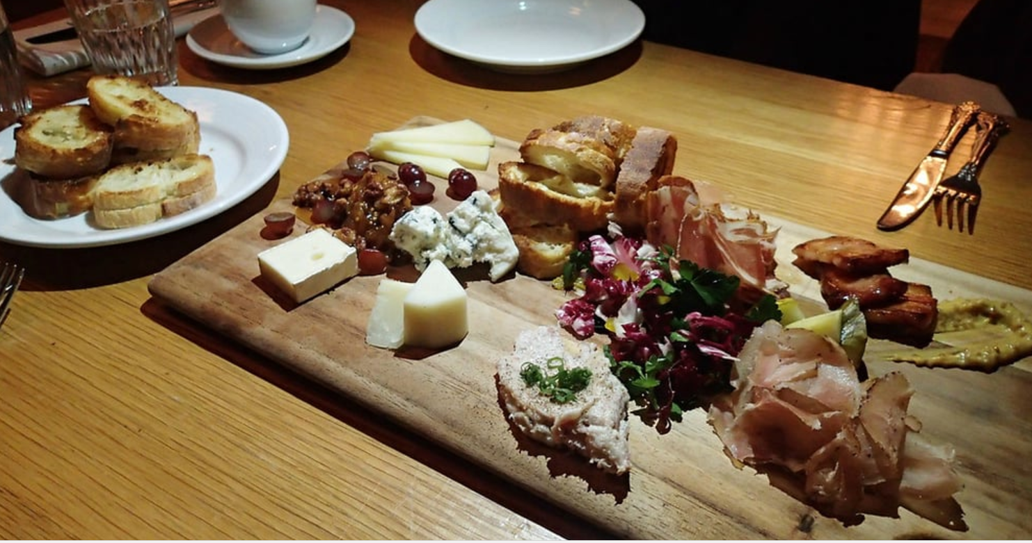 Meat and Cheese Platter at Rye