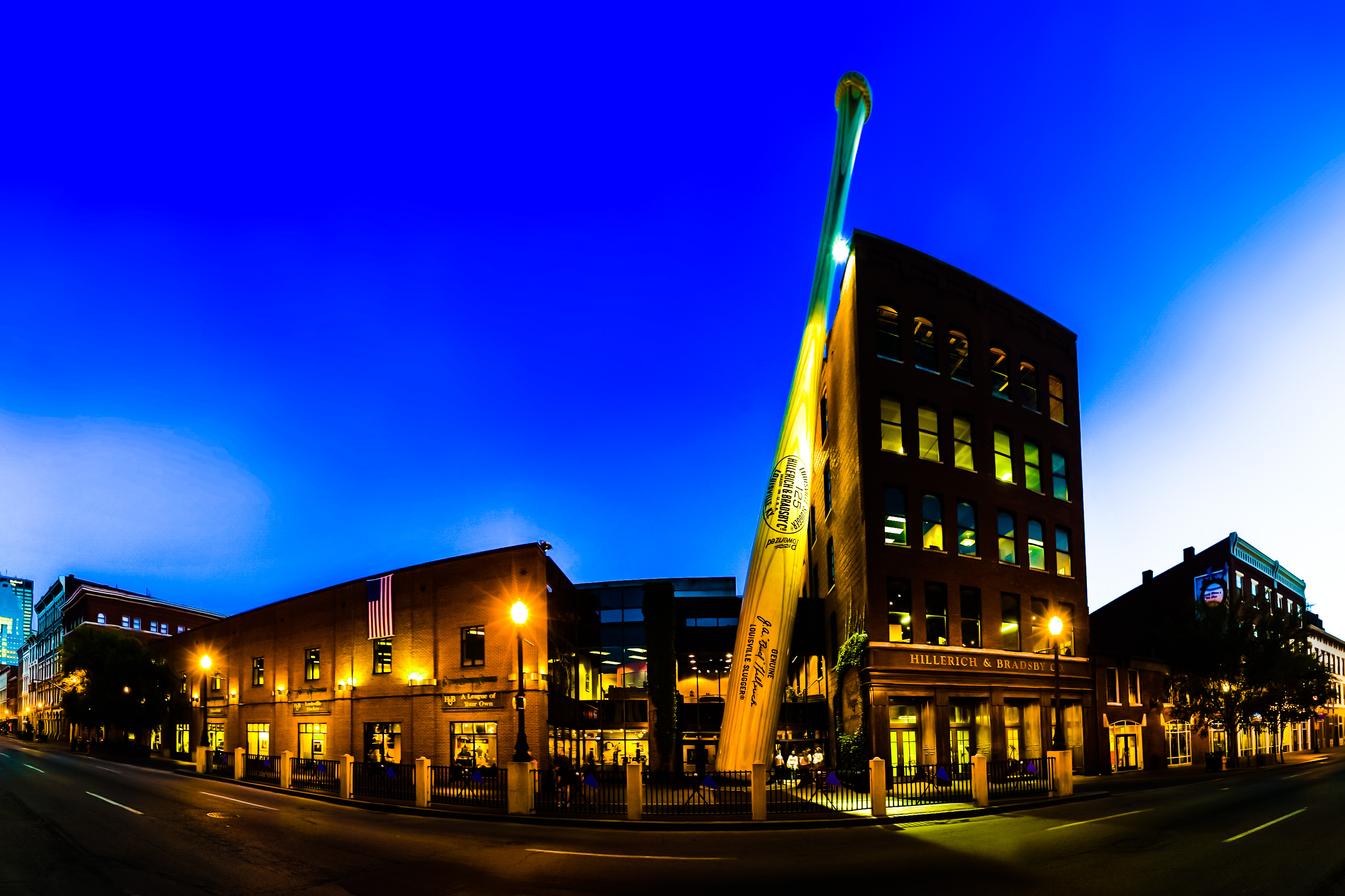 Louisville Slugger Museum and Manufacturing
