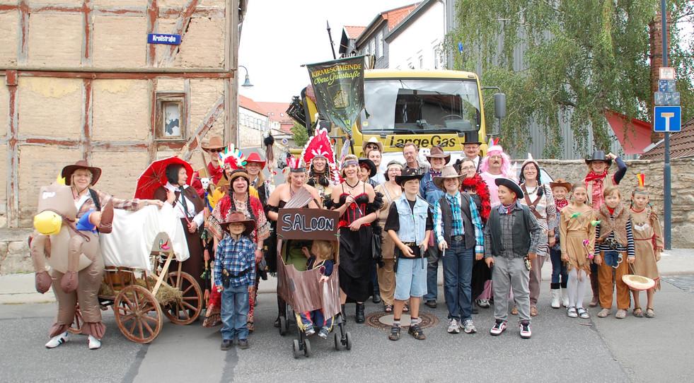 Der Wilde Westen fängt in Mühlhausen an