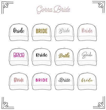Gorra Bride