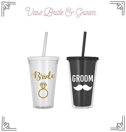 Vasos Bride & Groom