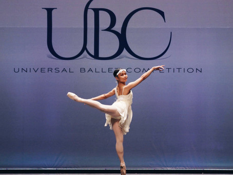 two Platinum Medals - the highest awarded prize - at the prestigious Universl Ballet Competition