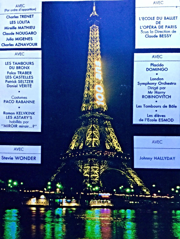 Eiffel Tour Anniversary