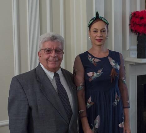 Mayor of Port Chester, Mr. Richard Falanka with our Director Choreographer Carole Alexis