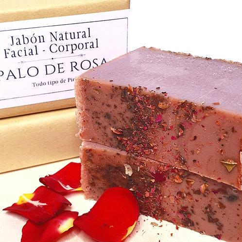 Pack 2 Jabones Palo de Rosa y Arándano Rojo