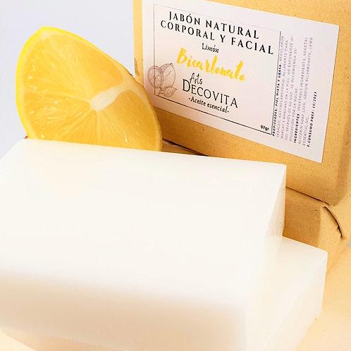 Pack 2 Jabones de Limón y Bicarbonato