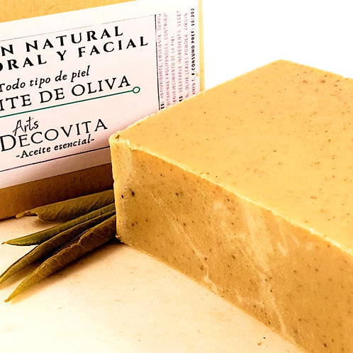 Jabón Aceite de Oliva Virgen - A corte