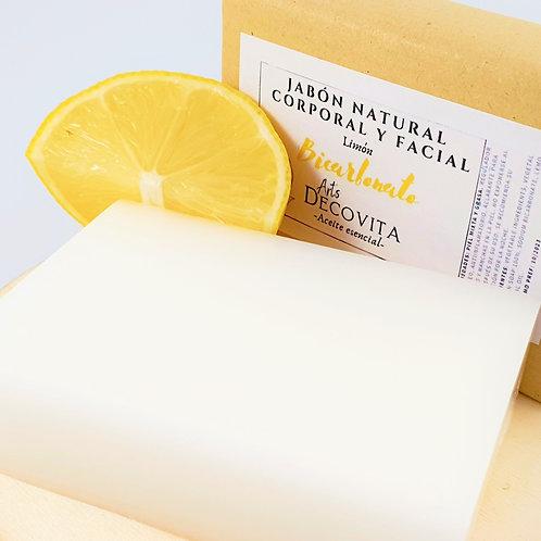 Jabón de Limón y Bicarbonato