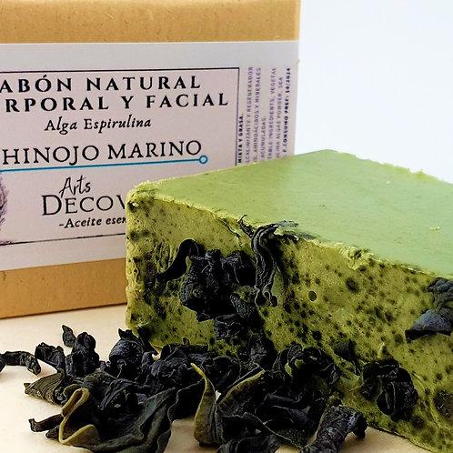 Jabón Anticelulítico de Alga Espirulina e Hinojo Marino - A corte