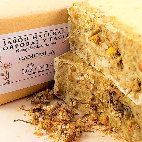 Pack 2 Jabones Nuez de Macadamia y Camomila - A corte