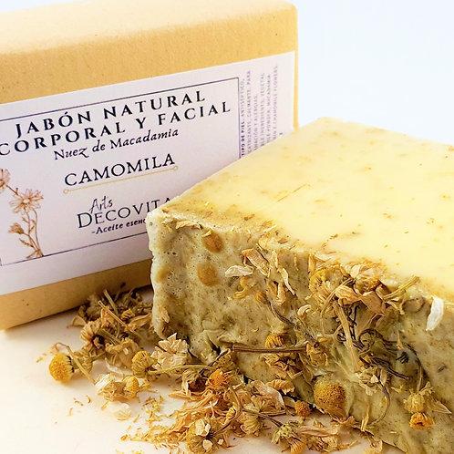 Jabón Nuez de Macadamia y Camomila - A corte