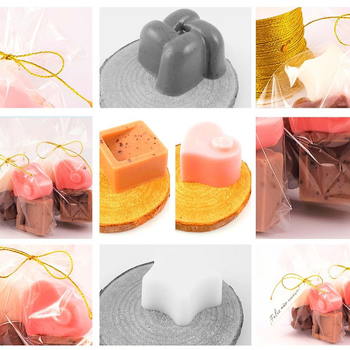 Pack 10  Cioccolatini Al Sapone