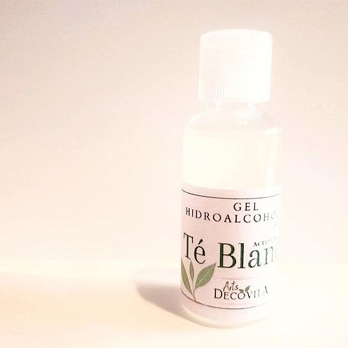 Gel Hidroalcoholico de Manos, Aloe vera y aceite esencial de té blanco natural