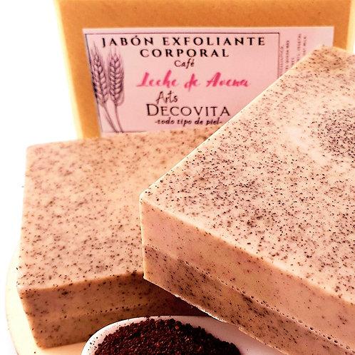 Pack 2 Jabones Exfoliantes de Café y Avena