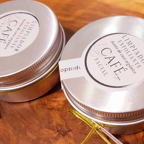 Pack 2 Mousse Exfoliante Limpiador Crema de Café y Coco orgánico
