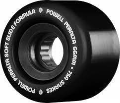 Black 66mm Powell Peralta Snakes