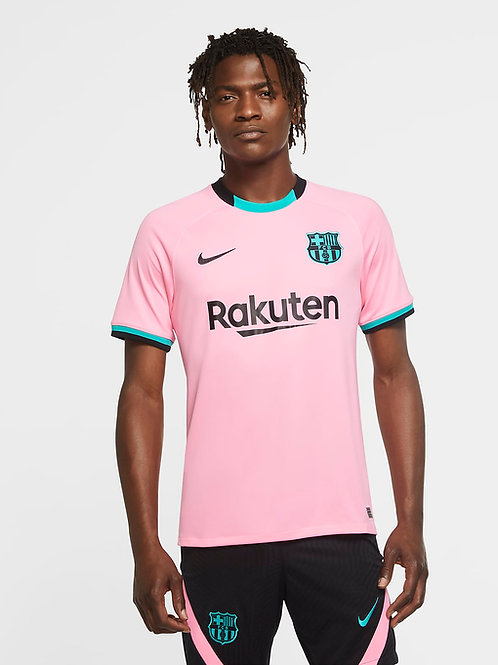 CAMISETA NIKE F.C.BARCELONA OFICIAL 3rd JERSEY 2020-2021 ADULTO       CK7819-654