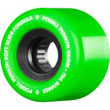 Green 66mm Powell Peralta Snakes