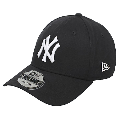 GORRA NEW ERA 940 LEAG BASIC NEYYAN NEGRA / BLANCO          10531941