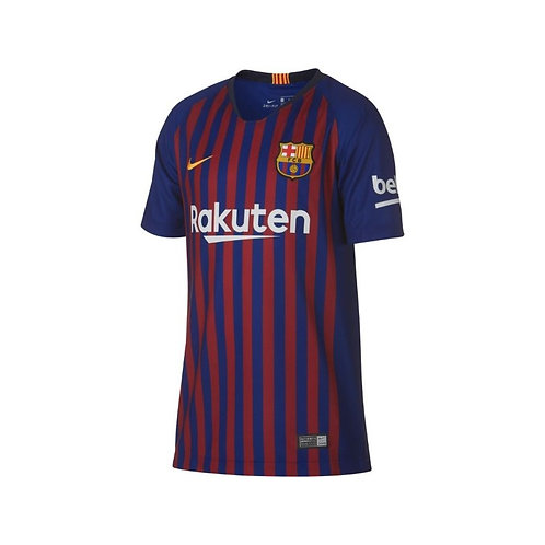 CAMISETA NIKE F.C.BARCELONA  HOME STADIUM JUNIOR 2018-2019