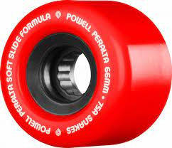 Red 66mm Powell Peralta Snakes