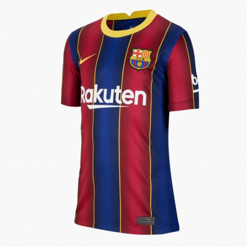 CAMISETA NIKE F.C.BARCELONA OFICIAL JUNIOR 2020-2021  CD4500-456