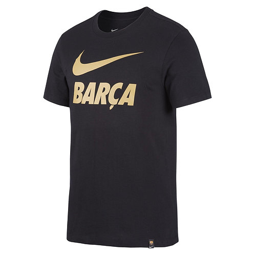 CAMISETA NIKE F.C.BARCELONA COTTON TEE SENIOR         CD0398-010