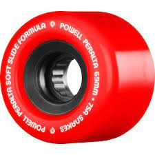 Red 69mm Powell Peralta Snakes