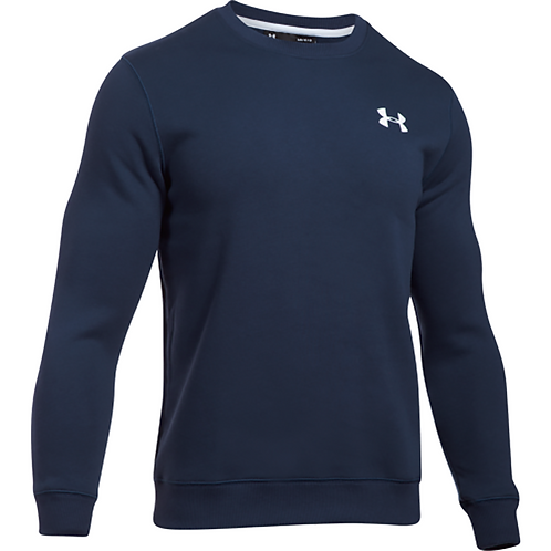 SUDADERA UNDER ARMOUR SENIOR RIVAL SOLID FITTED          1302854-410
