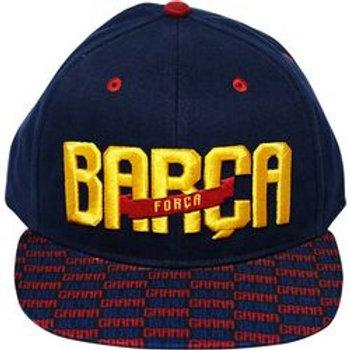 GORRA F.C.BARCELONA VISERA PLANA