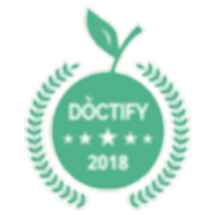 Private Cardiologist Dr. Kosta, Doctify, 2 Harley street London, certificate of patient excellence 2018