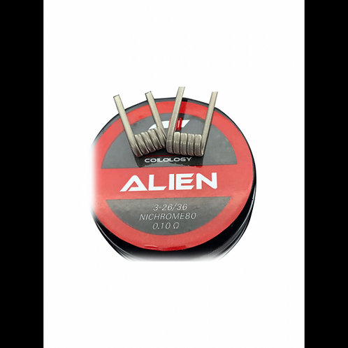 Coilology Handcrafted Prebuilt Coil Alien Ni80 2.5