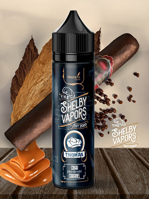 Thomas 20ml (60ml) – The Shelby Vapors by Omerta