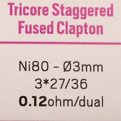 Tricore Staggered Fused Clapton