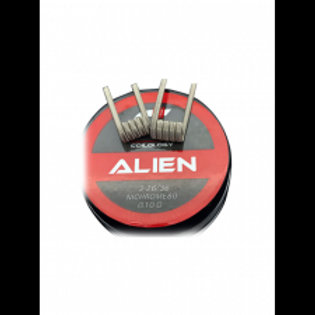 Coilology Handcrafted Prebuilt Coil Alien Ni80 3mm