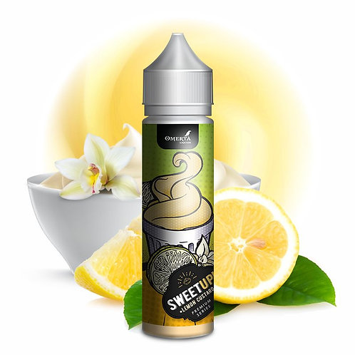 Lemon Custard 20ml (60ml) – Sweet Up by Omerta Liquids