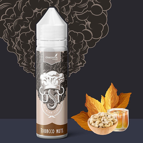 Tobacco Nuts 20ml (60ml) – Gusto by Omerta