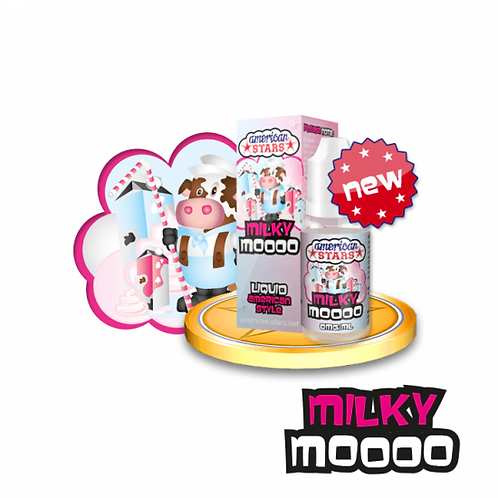 American Stars - Milky Moooo 10ml