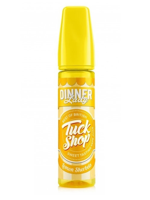 TuckShop Shot Lemon Sherbet 60ML (γλυκό λεμόνι) by Dinner Lady