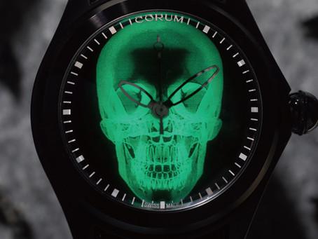最酷炫的X-Ray骷髏頭腕錶 CORUM 崑崙錶慶祝 Bubble系列21歲
