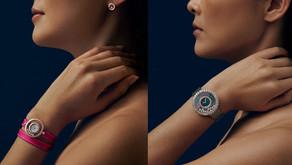 Happy Diamonds俏麗雙圈錶帶|搭上蕭邦全新復刻設計點綴快樂滑動鑽石之美