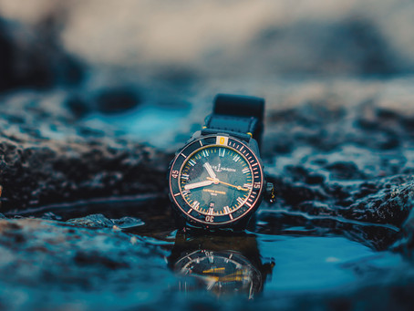 心繫海洋! 雅典錶推出限量檸檬鯊潛水錶
